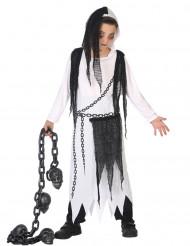 Disfraz de segador fantasma niño Halloween