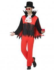 Disfraz vampiro ensangrentado ombre Halloween