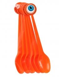 6 Cucharas de plástico 17 cm