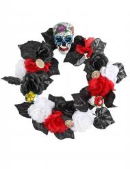 Corona de flores 47 cm Día de los muertos