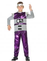 Disfraz de robot niño