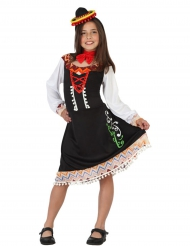 Disfraz de mexicana niña