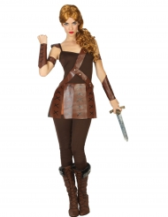 Disfraz de gladiadora romana mujer