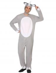 Disfraz de rinoceronte adulto