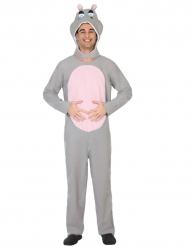 Disfraz de hipopótamo adulto