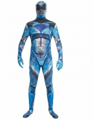 Disfraz azul Power Rangers™ deluxe adulto Morphsuits™