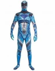 Disfraz azul Power Rangers™ deluxe adulto Morphsuits™