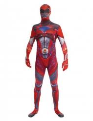 Disfraz rojo Power Rangers™ deluxe adulto Morphsuits™