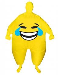 Disfraz inflable rostro feliz adulto Morphsuits