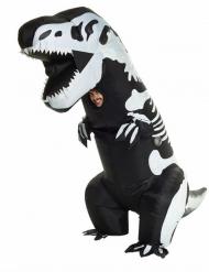 Disfraz hinchable esqueleto T-rex adulto Morphsuits™