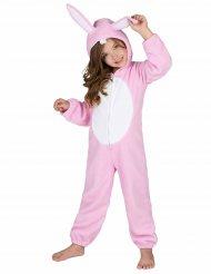 Disfraz conejo rosa niño