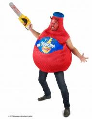 Disfraz botella de Orangina roja™
