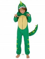 Disfraz de dinosaurio niño