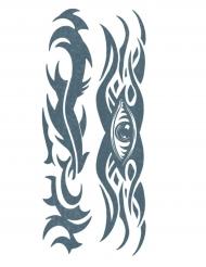 Tatuaje efímero tribal cuerpo adulto