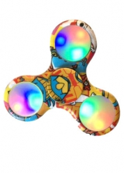 Hand Spinner Comics luminoso