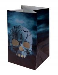 6 Linternas de papel noche de horror Halloween 6x10 cm