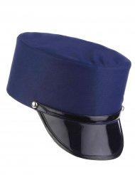 Gorro azul gendarme adulto