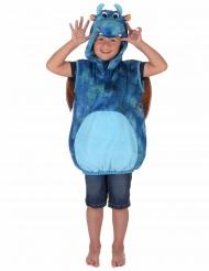 Disfraz dragón azul y naranja niño