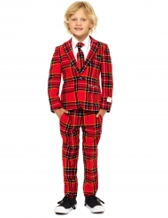 Traje Mr. Tartan rojo escocés niño de Opposuits™