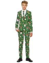 Traje Mr. Santaboss adolescente de Opposuits™ Navidad