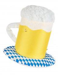 Sombrero tarro de cerveza luminoso adulto