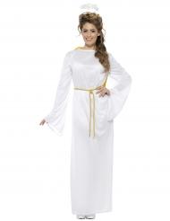 Disfraz ángel blanco adulto Noel