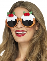 Gafas pastelillos adulto Noel