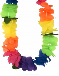Collar Hawai multicolores adulto