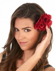 Horquilla rosa roja adulto