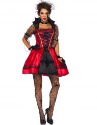 Disfraz vampiro gótico sexy mujer Halloween