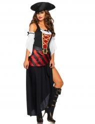 Disfraz pirata de los océanos para mujer
