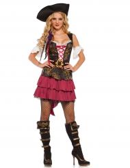 Disfraz pirata barroco sexy para mujer