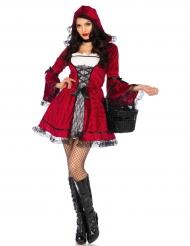 Disfraz de caperucita gótica mujer