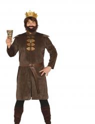 Disfraz rey medieval hombre