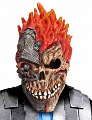 Máscara cyber cráneo adulto Halloween