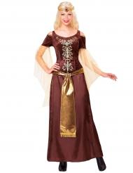 Disfraz reina vikinga mujer