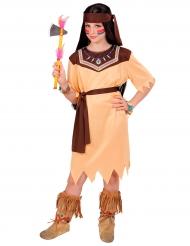 Disfraz princesa de tribu niña