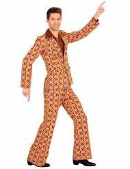 Disfraz groovy disco años 70 hombre