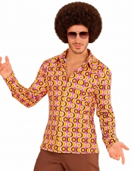 Camiseta groovy disco años 70 hombre