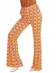 Pantalón groovy disco años 70 mujer