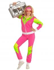 Disfraz deportivo años 80 para mujer