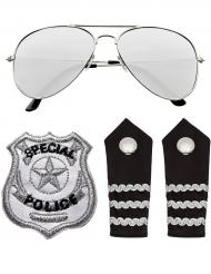 Kit accesorio policía adulto