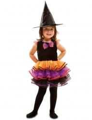 Disfraz de bruja fantasía niña Halloween