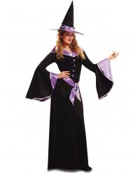 Disfraz bruja malva mujer Halloween