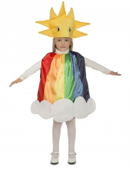 Disfraz arcoíris niño