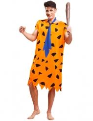 Disfraz prehistoria naranja hombre