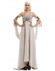 Disfraz reina de dragones elegante mujer