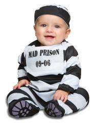 Disfraz de prisionero a rayas bebé