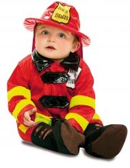 Disfraz soldado de fuego bebé