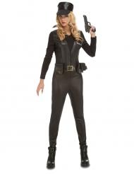 Disfraz mono SWAT sexy mujer